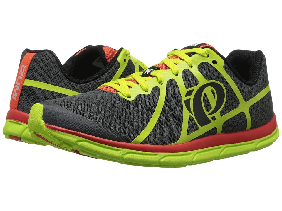 Pearl Izumi - Em Road N 1 v2 (Shadow Grey/Lime Punch) Men's Running Shoes