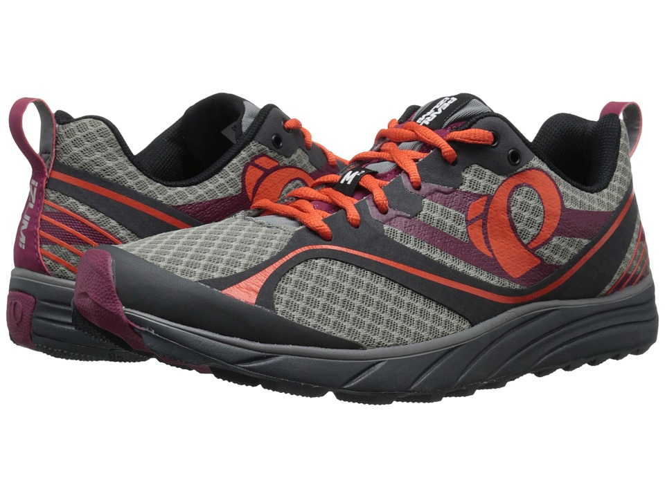 Pearl Izumi - EM Trail M 2 v2 (Shadow Grey/Spicy Orange) Men's Running Shoes