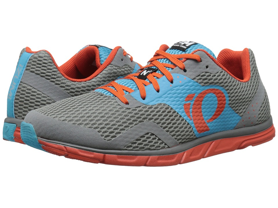 Pearl Izumi - Em Road N 0 (Grey/Blue Atoll) Men's Running Shoes