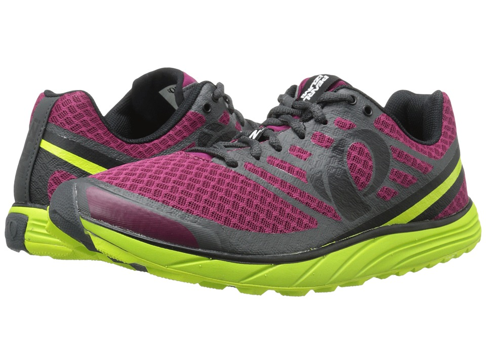 Pearl Izumi - EM Trail N 1 v2 (Beet Red/Lime Punch) Men's Running Shoes