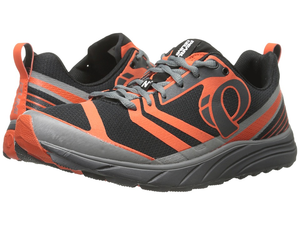 Pearl Izumi - EM Trail N 2 v2 (Shadow Grey/Spicy Orange) Men's Running Shoes