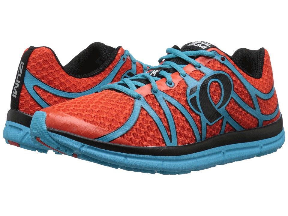 Pearl Izumi - EM Road M 2 v2 (Spicy Orange/Blue Atoll) Men's Running Shoes