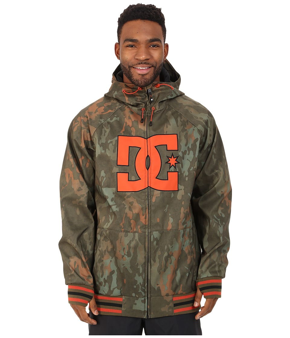 DC - Spectrum Snow Jacket (Camo Lodge) Men's Coat