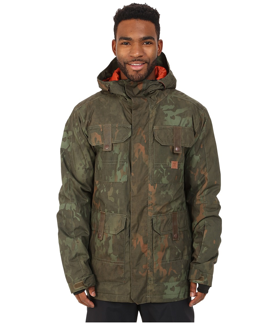 DC - Servo Snow Jacket (Camo Lodge) Men's Coat