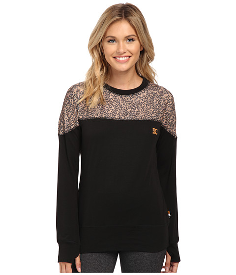 DC - Galena Base Layer Top (Hebon Leopard) Women's Clothing