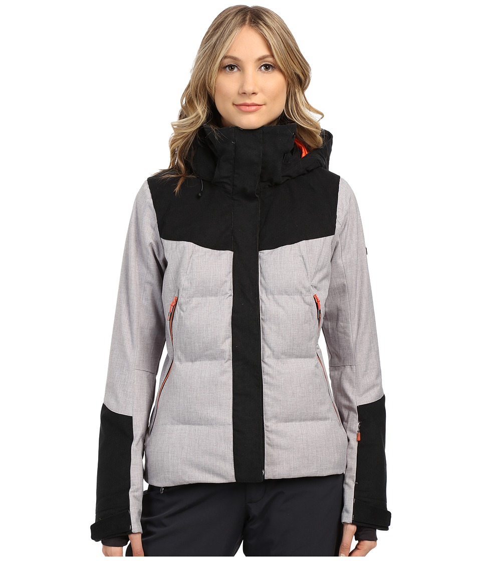 Roxy - Flicker Snow Jacket (Heritage Heather) Women