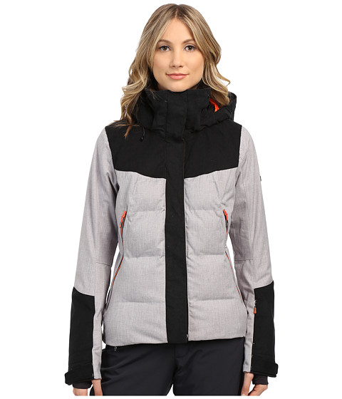 Roxy - Flicker Snow Jacket (Heritage Heather) Women's Coat
