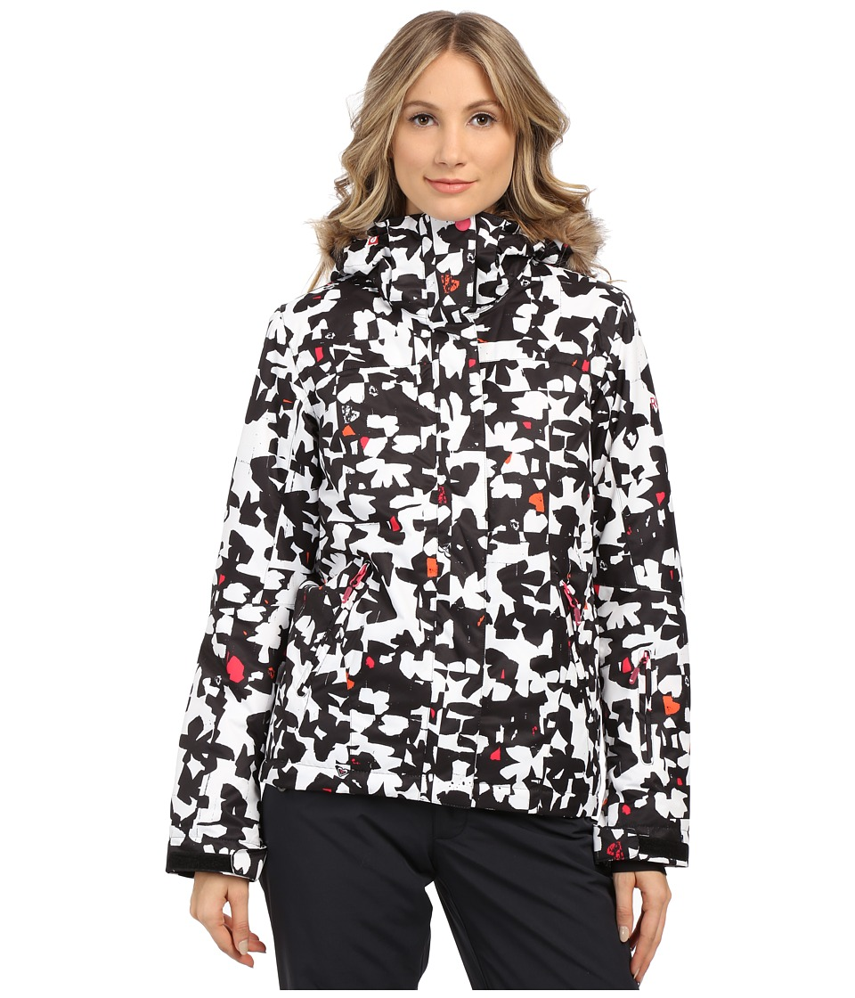 Roxy - Jet Ski Snow Jacket (Flower Pop) Women