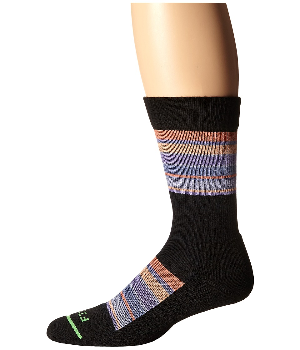 Fits - Light Hiker National Park Crew (Vin St Great Smoky Mtns) Crew Cut Socks Shoes