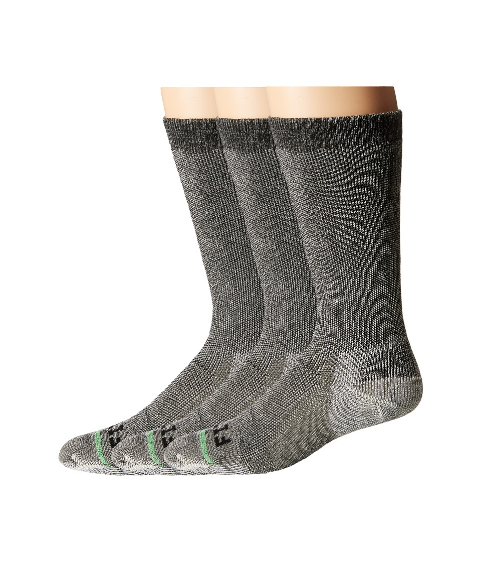 Fits - Medium Expedition Rugged Crew 3-Pack (Coal) Crew Cut Socks Shoes