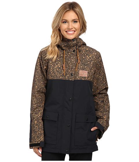 DC - Cruiser J Snow Jacket (Hebon Leopard) Women's Coat