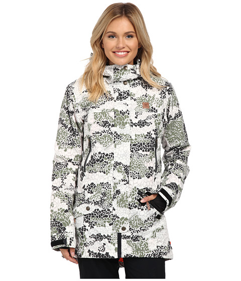 DC - Nature Disruptive Pattern Material J Snow Jacket (Disruptive Pattern Material Camo) Women