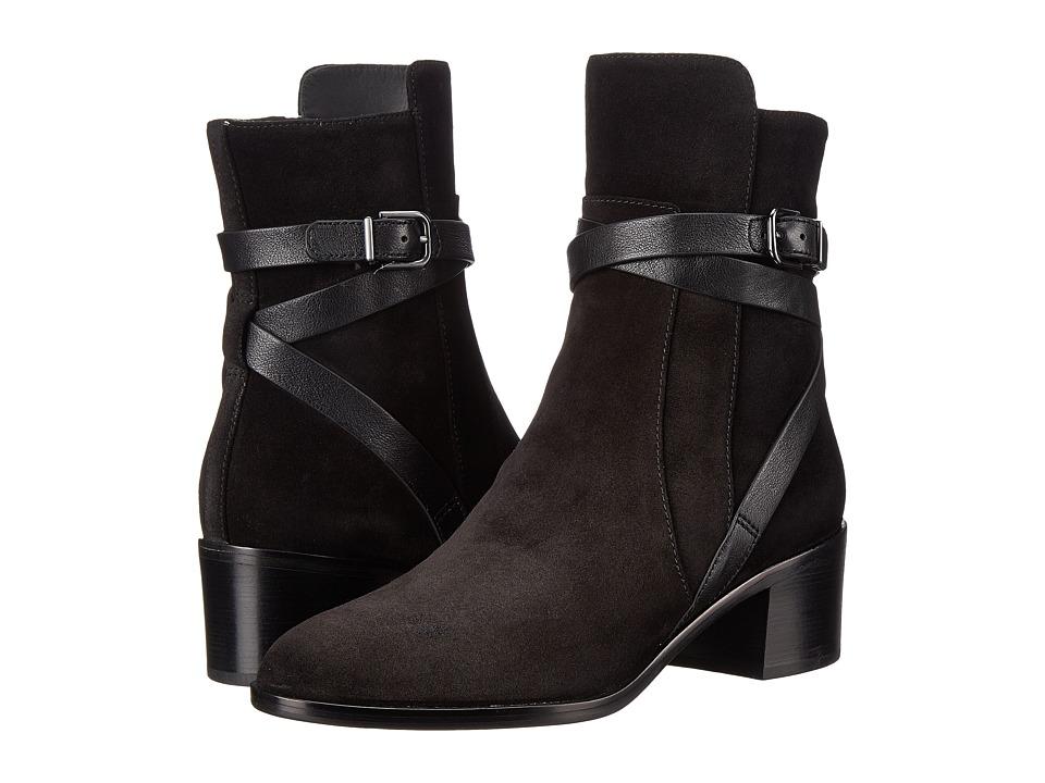 Via Spiga - Alden (Black/Black Sport Suede/Toldedo Tumbled Calf) Women