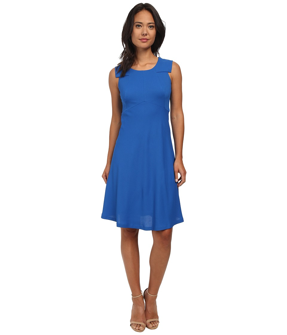 Nine West - Fit and Flare Dress (Marine Coast) Women's Dress