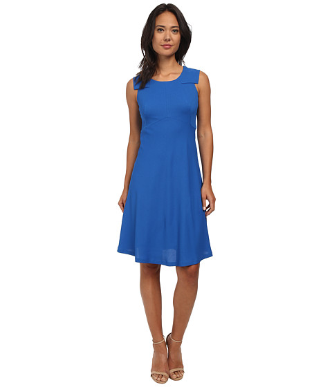Nine West - Fit and Flare Dress (Marine Coast) Women