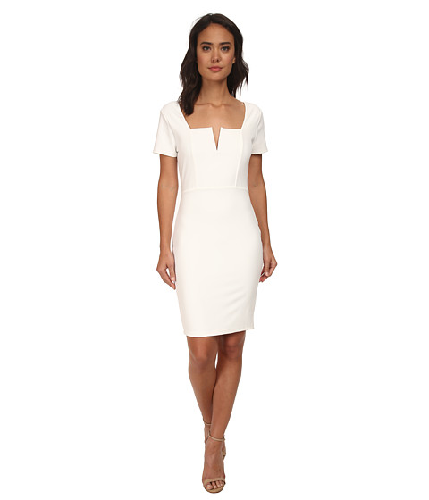 Brigitte Bailey - Tara Cap Sleeve Dress (Off White) Women
