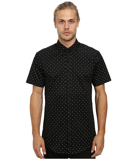 Publish - Clint Button Up (Black 3M) Men