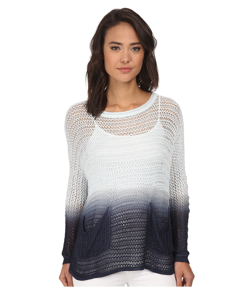 Brigitte Bailey - Sara Dip Dye Sweater (Blue) Women's Sweater