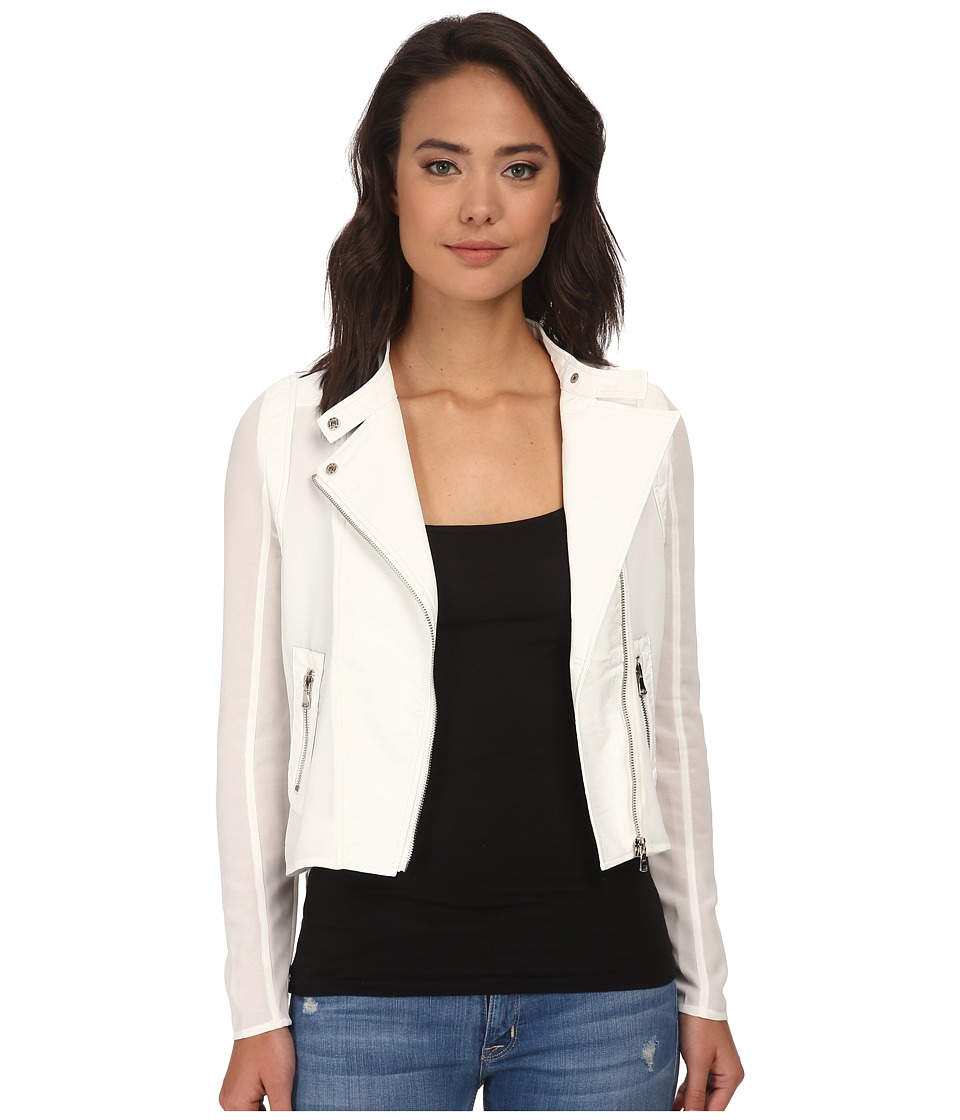 Brigitte Bailey - Out On The Town Jacket (White) Women's Coat