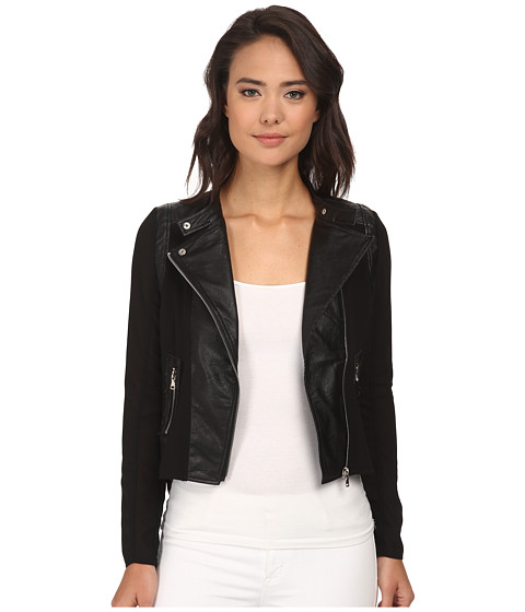 Brigitte Bailey - Out On The Town Jacket (Black) Women's Coat
