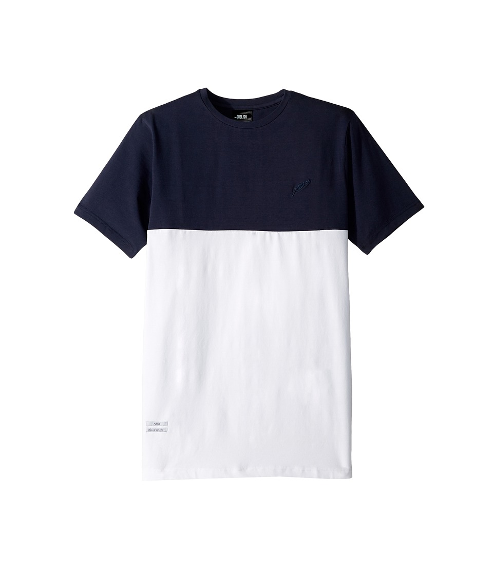 Publish - Thorton Knit (Navy) Men's T Shirt