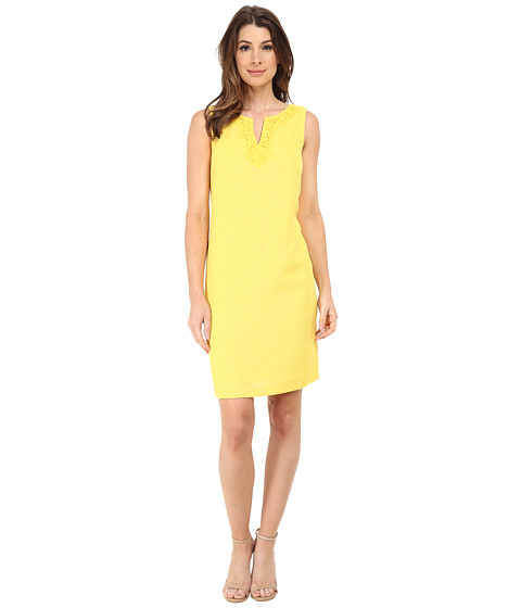 Nine West - Fit and Flare Dress (Sunflower) Women
