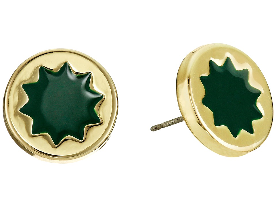 House of Harlow 1960 - Mini Sunburst Stud Earrings (Juniper) Earring