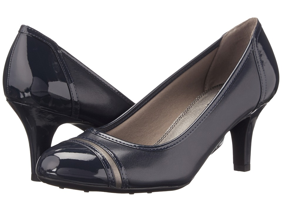 LifeStride - Petunia (Navy) Women's Shoes