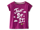 Just Do It Skywriting Short Sleeve Tee