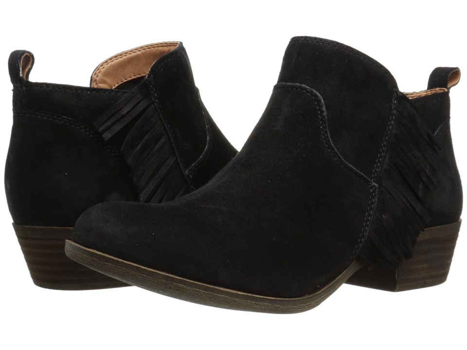 Lucky Brand - Banji (Black) Women's Pull-on Boots