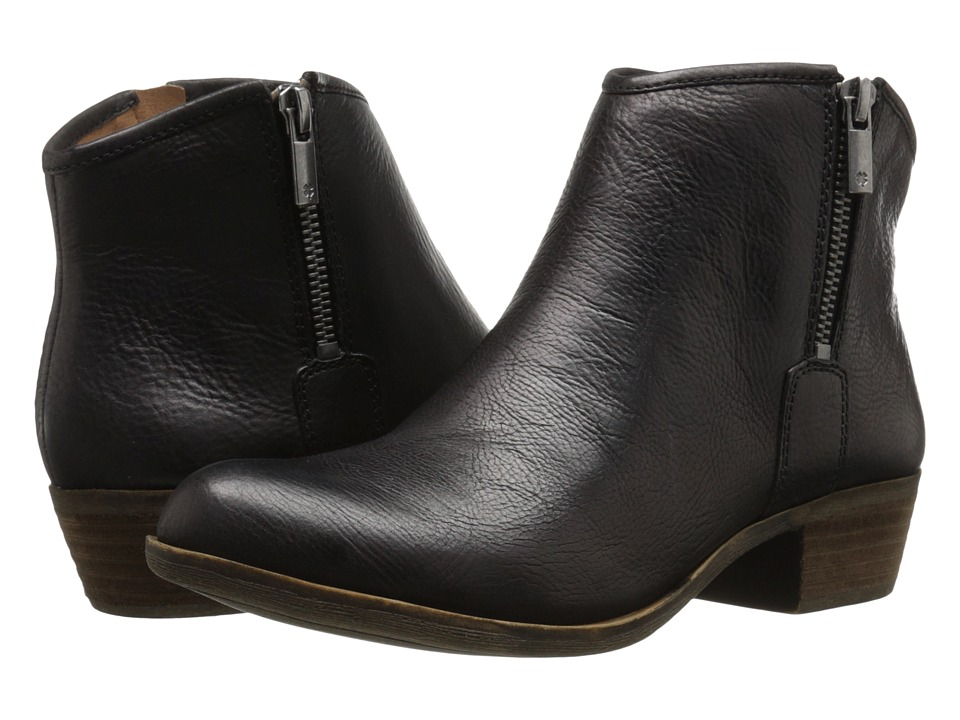 Lucky Brand - Boom (Black) Women's Zip Boots
