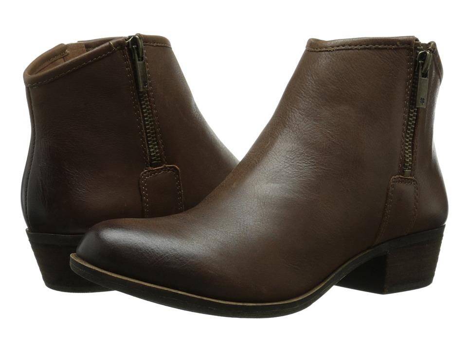 Lucky Brand - Boom (Nutmeg) Women's Zip Boots