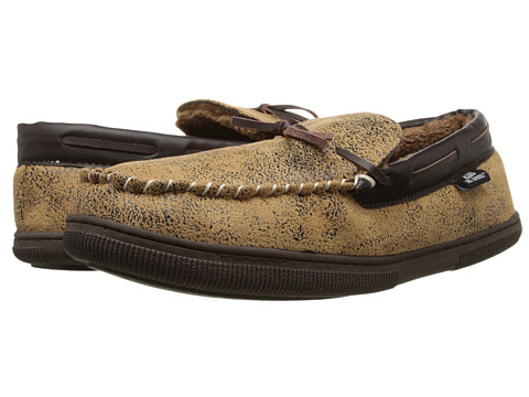 M&F Western - Moccasin Slippers (Brown) Men's Slippers