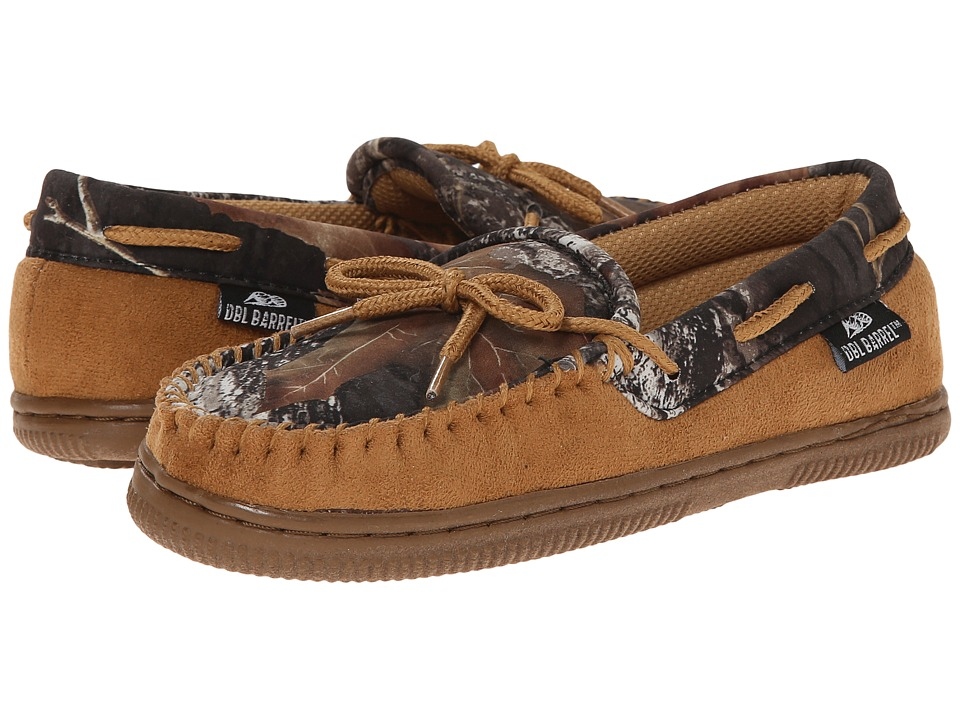 M&F Western - Moccasin Slippers (Toddler/Little Kid/Big Kid) (Tan/Mossy Oak) Men's Slippers