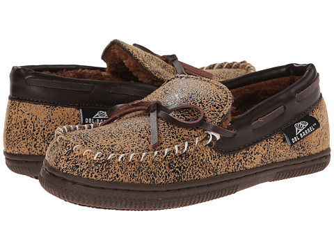 M&F Western - Moccasin Slippers (Toddler/Little Kid/Big Kid) (Brown) Men's Slippers