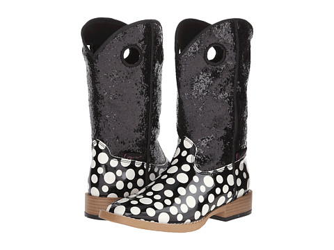 M&F Western - Pearl (Little Kid) (Black/White) Cowboy Boots
