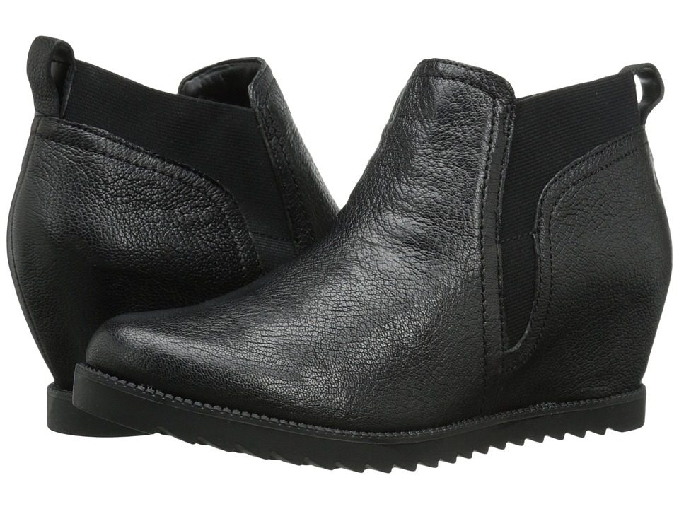 Naturalizer - Darena (Black Leather) Women's Boots