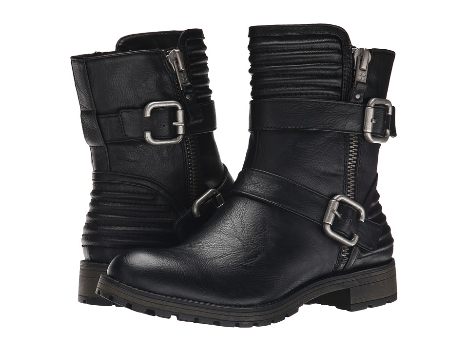 Naturalizer - Tandie (Black Smooth) Women's Zip Boots
