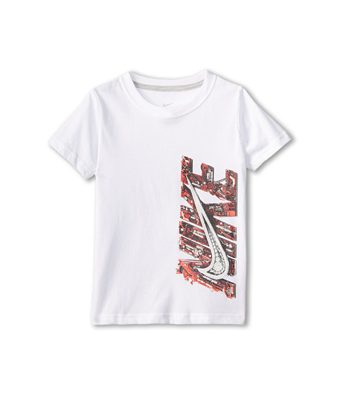 Nike Kids - Future Tech Short Sleeve Tee (Little Kids) (White) Boy