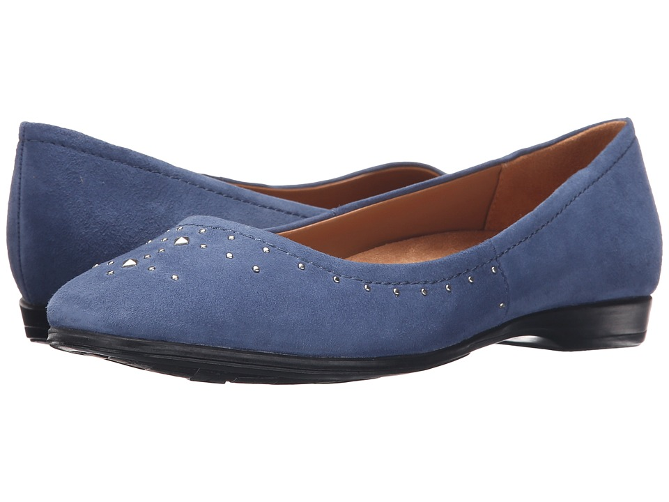 Naturalizer - Joana (Mali Blue Suede) Women