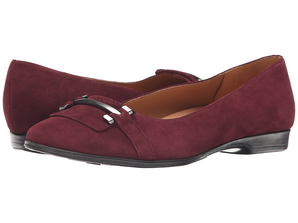 Naturalizer - Joyce (British Burgundy Suede) Women