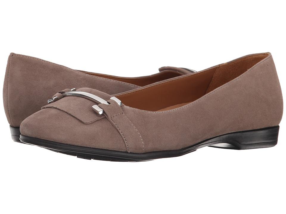 Naturalizer - Joyce (Truffle Taupe Suede) Women's Flat Shoes
