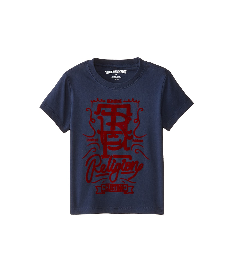True Religion Kids - Graphic Tee (Toddler) (Midnight) Boy's T Shirt