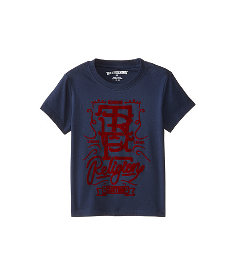 True Religion Kids - Graphic Tee (Toddler) (Midnight) Boy