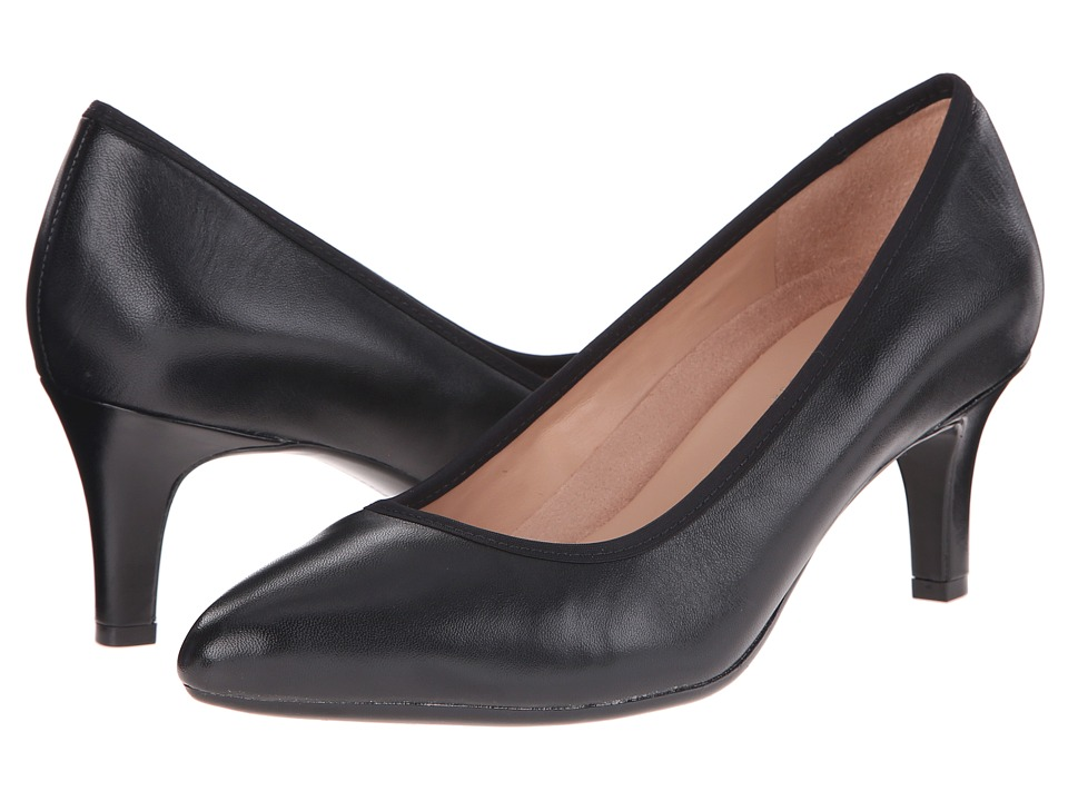 Naturalizer - Oath (Black Leather) High Heels
