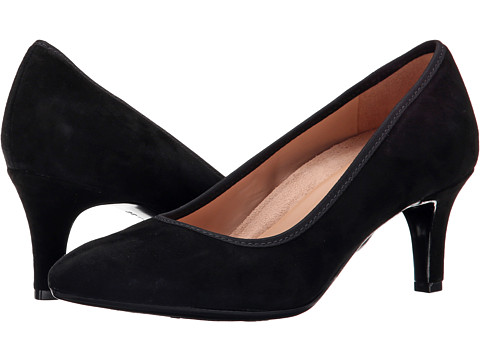 Naturalizer - Oath (Black Suede) High Heels