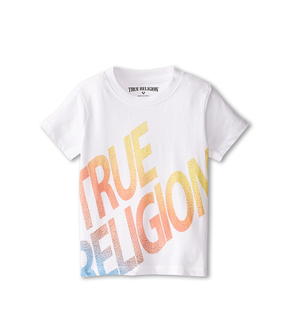 True Religion Kids - Retro Tee (Toddler) (White) Boy's T Shirt