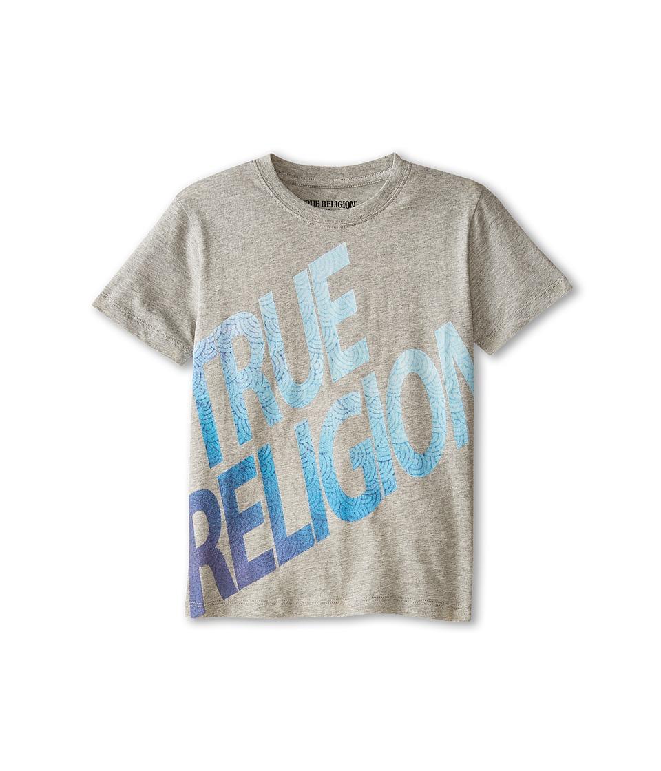 True Religion Kids - Retro Tee (Little Kids) (Heather Grey) Boy