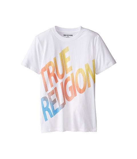 True Religion Kids - Retro Tee (Big Kids) (White) Boy
