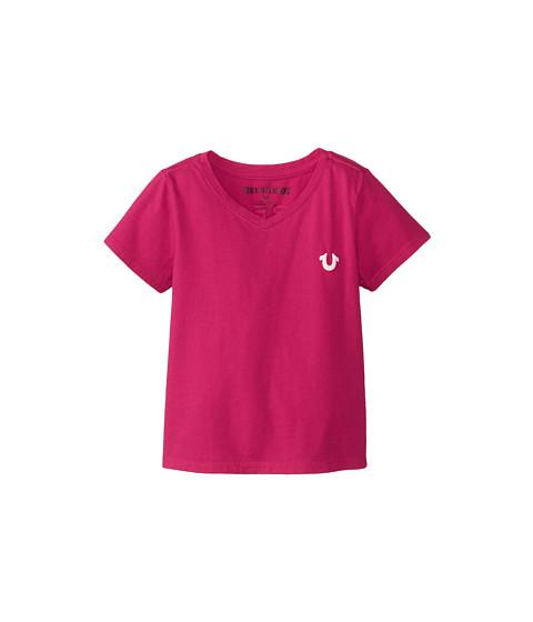 True Religion Kids - Puff Tee (Toddler) (Fuchsia) Girl's T Shirt